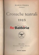 Cronache teatrali 1923