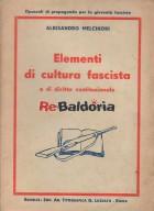 Elementi di cultura fascista e di diritto costituzionale