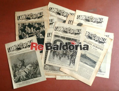 17 numeri de L'ARDITO D'ITALIA