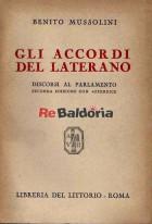 Gli accordi del Laterano - Discorsi al Parlamento