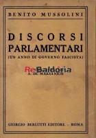 Discorsi parlamentari - Un anno di governo fascista Commenti da A. De Marsanich