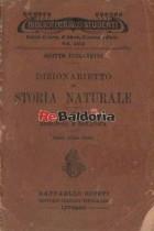 Dizionarietto di Storia Naturale volume I°: Zoologia e botanica