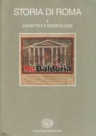 Storia di Roma 4 - Caratteri e morfologie