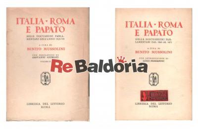 Italia, Roma e Papato - Volume 1° e 2°