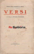 Versi con lettera di Antonio Fogazzaro