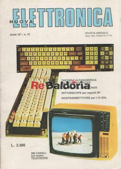 Nuova Elettronica anno 12 n 72