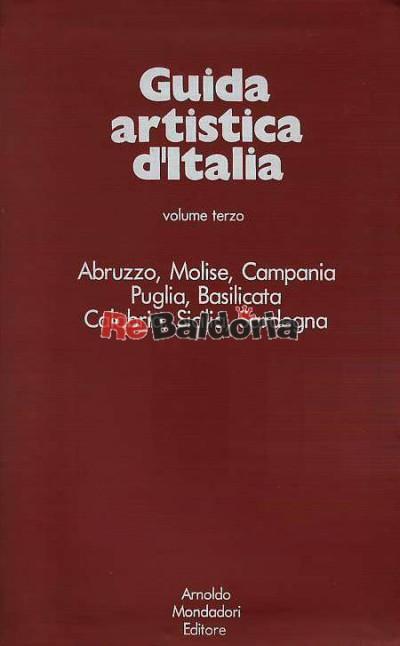 Guida artistica d'Italia volume terzo