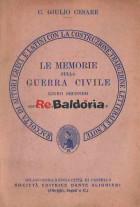 Le memorie sulla Guerra Civile libro secondo