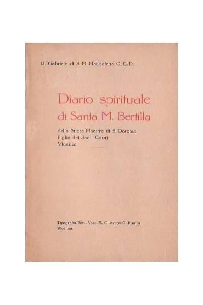 Diario spirituale di Santa M. Bertilla