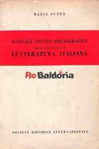 Manuale critico-bibliografico per lo studio della letteratura italiana
