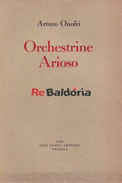 Orchestrine Arioso