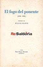 El fogo del Ponente (1958 - 1959)