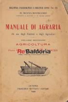 Manuale di agraria