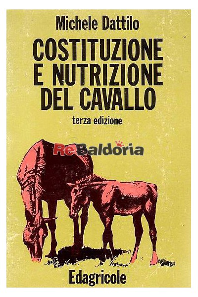 Costituzione e nutrizione del cavallo