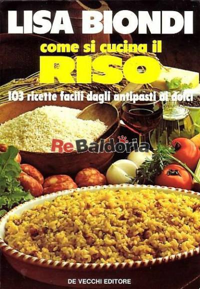 Come si cucina il riso