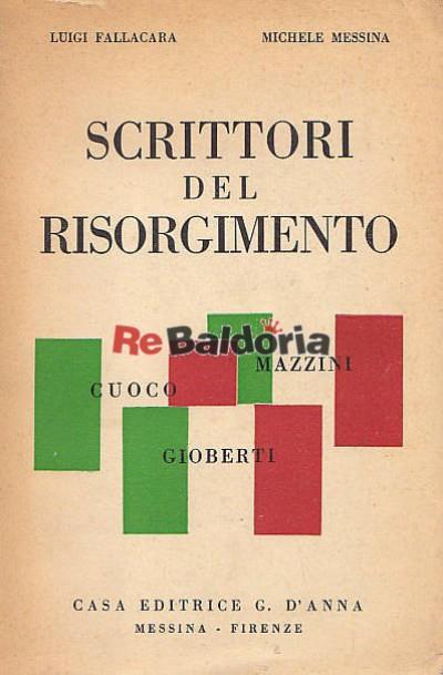 Scrittori del Risorgimento