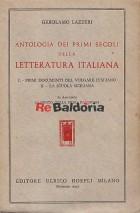 Antologia dei primi secoli della letteratura italiana