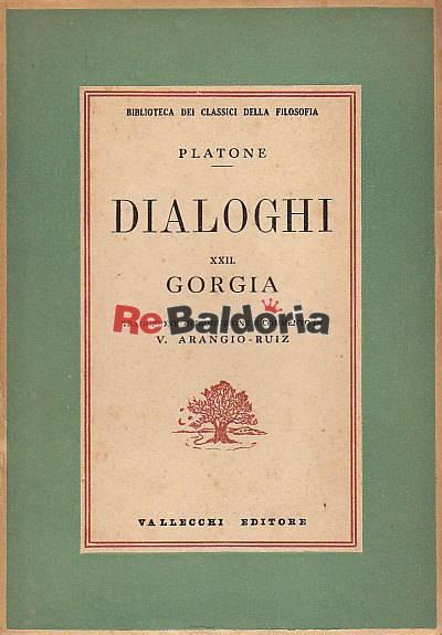 Dialoghi XXII - Gorgia