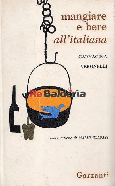 Mangiare e bere all'italiana