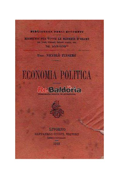 Economia politica