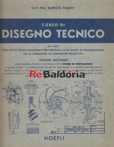 Corso di disegno tecnico volume 2°