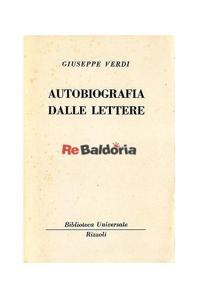Autobiografia dalle lettere