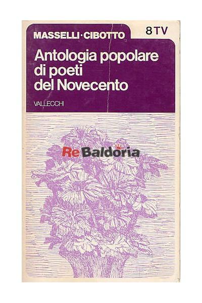 Antologia popolare di poeti del Novecento