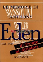 Le memorie di Anthony Eden di fronte ai dittatori 1931 - 1938