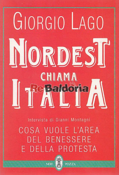 Nordest chiama Italia