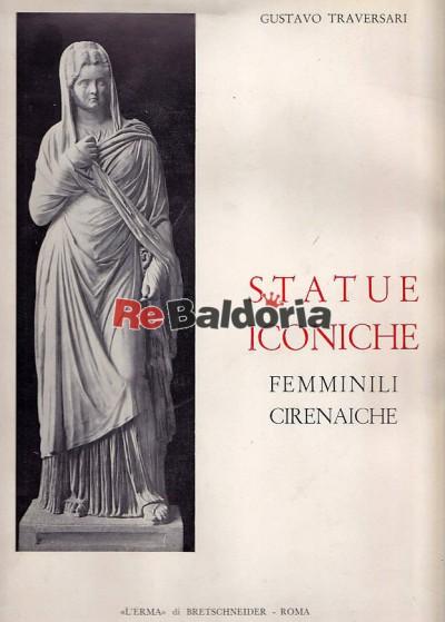 Statue iconiche femminili cirenaiche