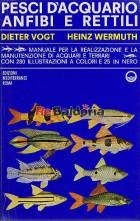 Pesci d'acquario anfibi e rettili