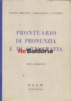 Prontuario di pronunzia e ortografia