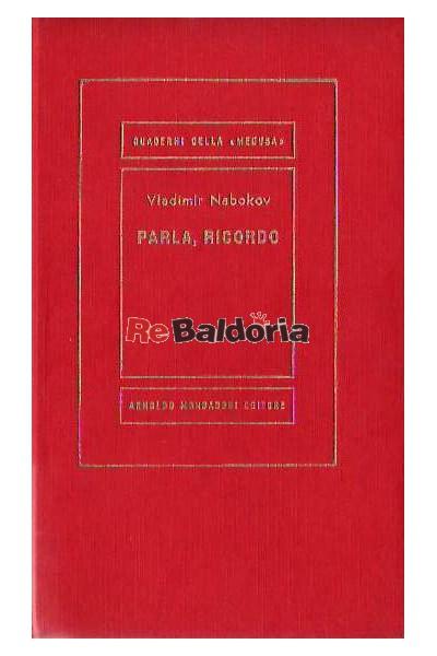 Parla, riccordo (Speak, memory)