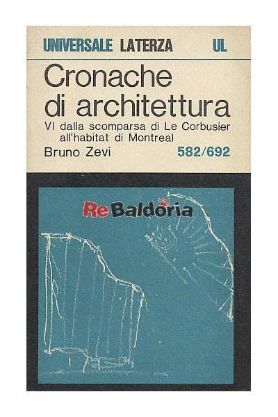 Cronache di architettura 6°