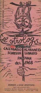 El strologo padovan 4 - Calendario almanaco schieson lunario padovan del 1968