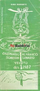 El strologo padovan 23 - Calendario almanaco veneto par l'ano 1987