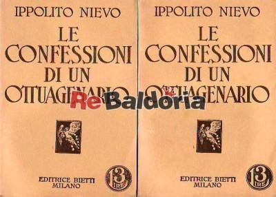 Le confessioni di un ottuagenario vol. 1 - 2