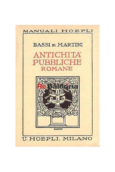 Antichità pubbliche romane