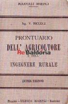 Prontuario dell'agricoltore e dell'ingegnere rurale