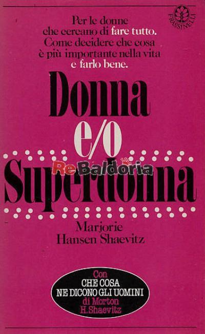 Donna e/o superdonna