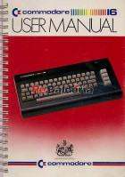 Commodore 16 user manual
