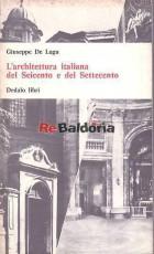 L'architettura italiana del Seicento e del Settecento